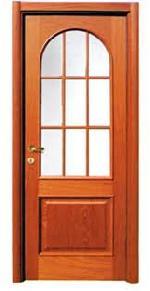Jó választás hosszú évekre - lemezbetétes fa bejárati ajtók