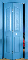 Harmonikaajtó I. bejárati ajtó