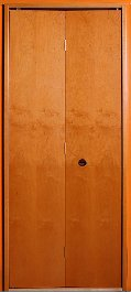 Harmonikaajtó II. bejárati ajtó