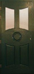 OSB méregzöld  bejárati ajtó