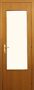 MDF nagy üveges bejárati ajtó