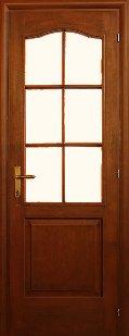 HDF 6 panel bejárati ajtó
