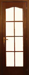 HDF 8 panel bejárati ajtó