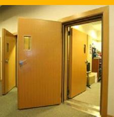 Hangszigetelő ajtók